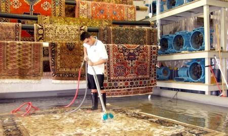 قالیشویی ملت مشهد , قالیشویی ایران