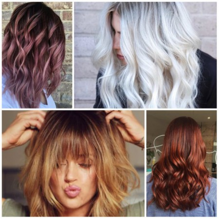 رنگ جدید برای مو