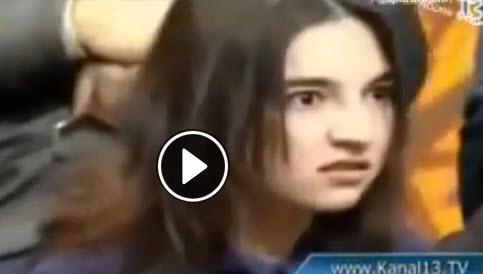 کلیپ وحشتناک , کلیپ ترسناک ,کلیپ جن زده شدن لامیا علییوا دختر آذربایجانی