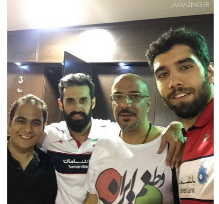محمد موسوی و بازیگران
