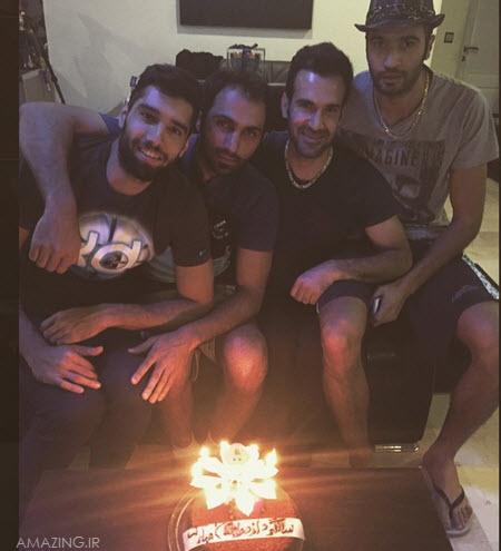 جشن تولد محمد موسوی