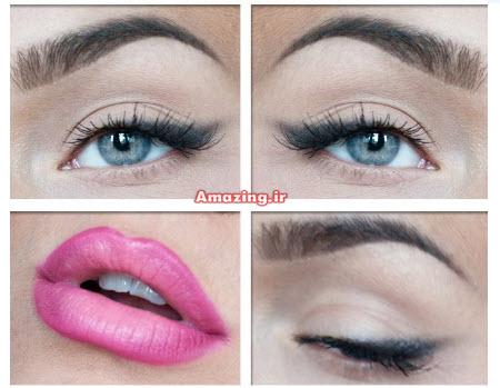 مدل آرایش چشم , مدل رژلب, رژلب 2014