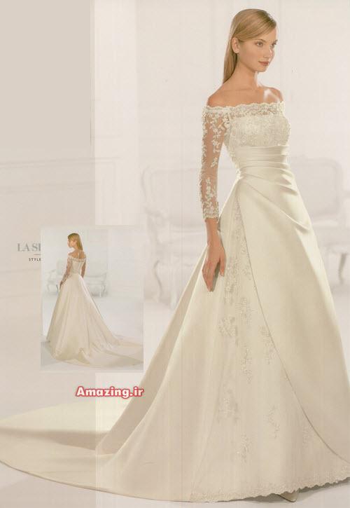 عکس لباس عروس اسکارلت