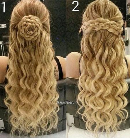 مدل آرایش مو 94, مدل مو بسته , مدل مو جذاب دخترانه , مدل مو جدید زنانه