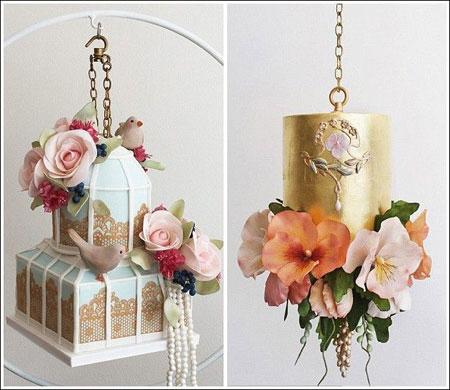مدل کیک های عروسی,کیک های عروسی 2015
