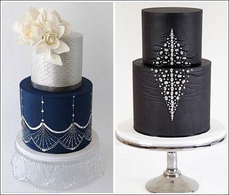 کیک های عروسی 2015,کیک های عروسی جالب