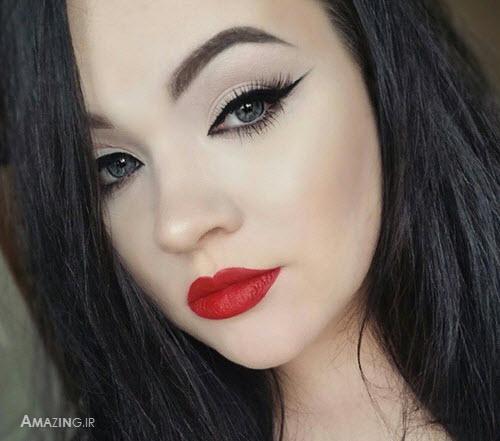 آرایش صورت مجلسی,مدل آرایش صورت,میکاپ صورت زنانه