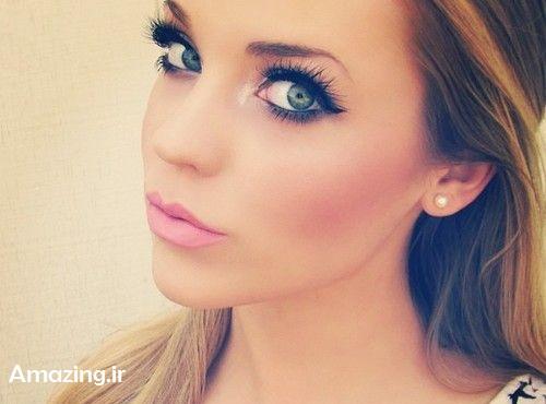 مدل آرایش 2014,مدل آرایش صورت,میکاپ