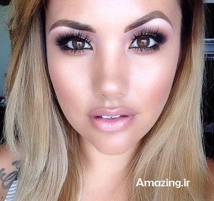 مدل آرایش 2014,مدل آرایش صورت,میکاپ 2014