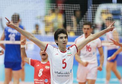 عکسهای فرهاد قائمی بازیکن تیم ملی والیبال ایران