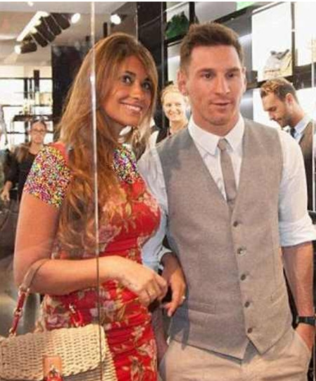 لیونل مسی و همسرش , عکس لیونل مسی و همسرش , اینستاگرام لیونل مسی و همسرش