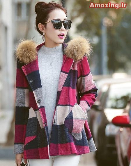 نتیجه تصویری برای پالتو و لباس زمستانی زنانه و دخترانه
