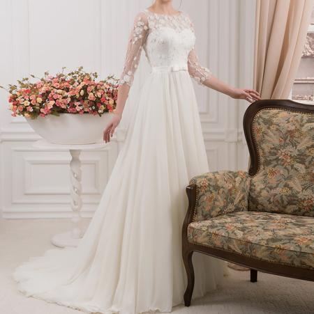 لباس عروس آستین دار,مدل لباس عروس