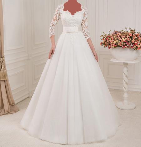 جدیدترین لباس عروس های آستین دار,شیک ترین لباس عروس های با حجاب