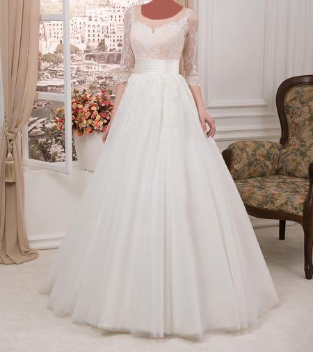 مدل لباس عروس سفید, مدل لباس عروس با حجاب
